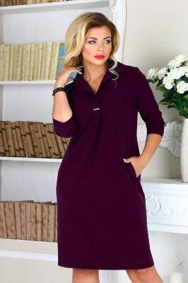 Платье 008/2, фиолетовый