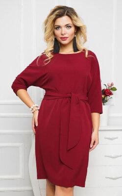 Платье 030, бордовый