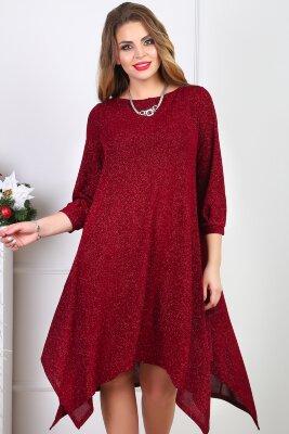 Платье 106, Бордовый